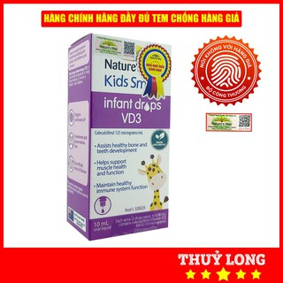 Nature's Way Kids Smart Infant Drops VD3 – Bổ Sung Vitamin D3 Cho Bé