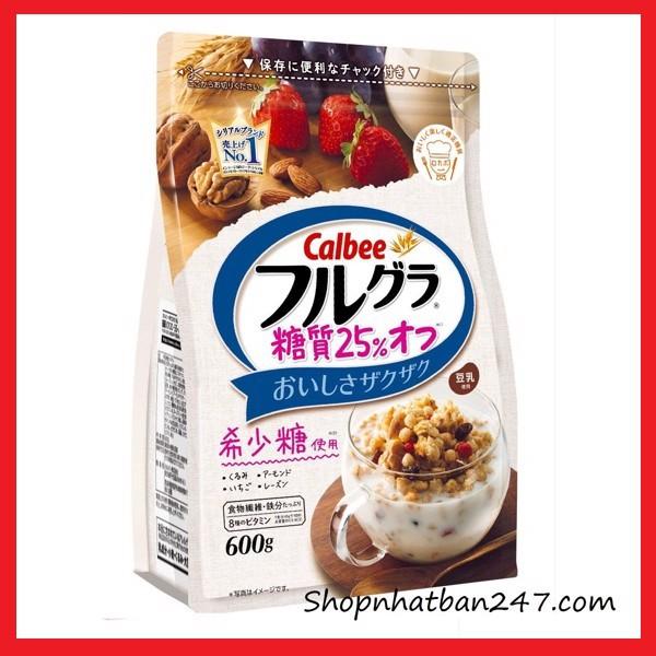 [Date mới] Ngũ cốc dinh dưỡng Calbee màu trắng vị quả óc chó hạnh nhân 600g - 13966026 , 2231434533 , 322_2231434533 , 199000 , Date-moi-Ngu-coc-dinh-duong-Calbee-mau-trang-vi-qua-oc-cho-hanh-nhan-600g-322_2231434533 , shopee.vn , [Date mới] Ngũ cốc dinh dưỡng Calbee màu trắng vị quả óc chó hạnh nhân 600g
