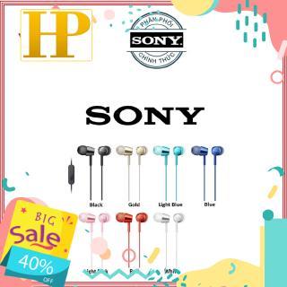 Tai nghe in-ear Sony MDR-EX155AP - Hàng Chính Hãng