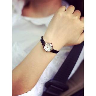 đồng hồ nữ hàn quốc yuhao mặt kính khối 3d YHss441