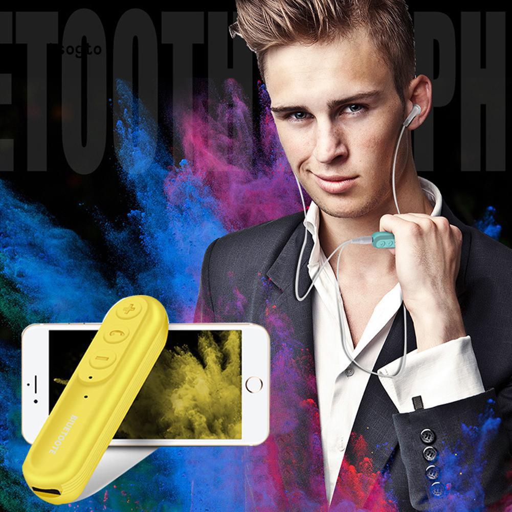Thiết Bị Nhận Tín Hiệu Âm Thanh Bluetooth Kèm Vòng Kẹp Cho Iphone