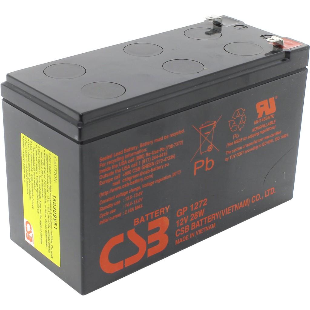 Bình ắc quy 12V7.2Ah GP1272F2(12V28W)