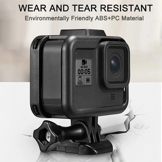 Frame Case Protective Cover ABS for Gopro Hero 8 Black Action Camera