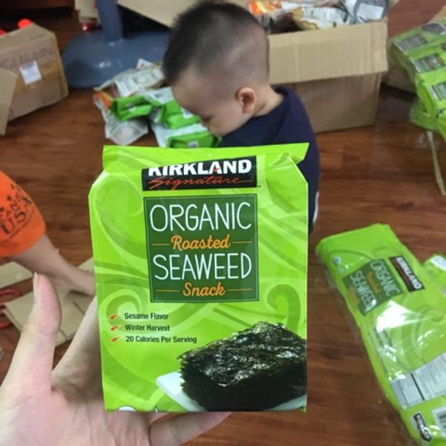 Rong biển hữu cơ ăn liền Kirkland