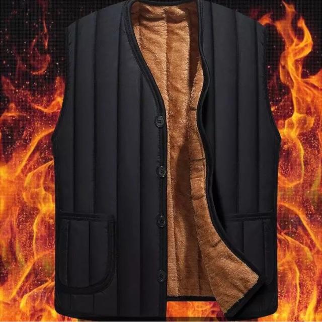 #150k ORDER- Áo gile lót lông trung niên