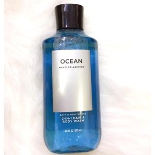 Sữa Tắm Gội 2 in 1 Dành Cho Nam Bath And Body Works Men – Ocean 295ml