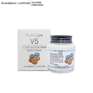 Kem dưỡng trắng, ngừa mụn, mờ thâm nám Rainbow L affair Multi - care V5 Madeca 90 ml thumbnail