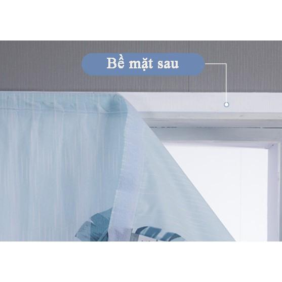 【ready stock】Rèm cửa sổ, rèm cửa dán tường 2 lớp, rèm cửa chống nắng dán tường