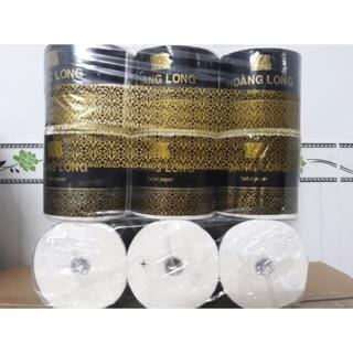 Lốc 6 cuộn Hoàng Long cao cấp giấy lụa 3 lớp 1kg