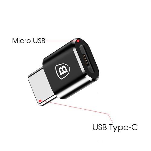 Đầu chuyển Micro USB sang TYPE-C Baseus