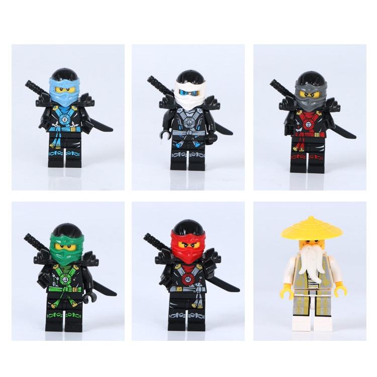 Bộ Đồ Chơi Lego Xếp Hình Ninja Cho Bé ninjago