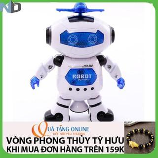 Combo 2 Robot Biết Nhảy Và Hát Xoay 360 Độ