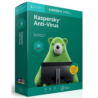 Kapersky Anti Virus 1PC/12T--2019-box--