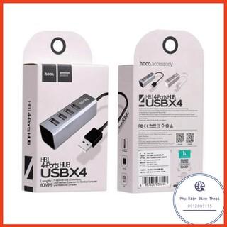 Bộ Chia Cổng USB Hoco HB1 Ports Hub USB X4 ⚡Phụ Kiện Điện Thoại⚡️