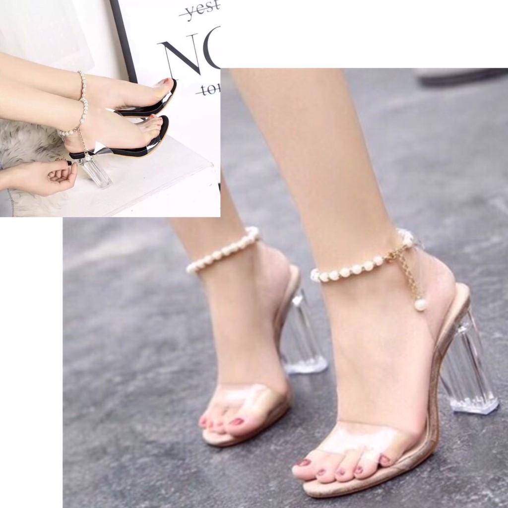 Giày cao gót 9 phân quai trong chuỗi LT