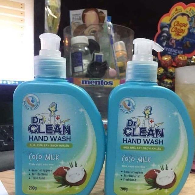 Nước rửa tay Dr Clean