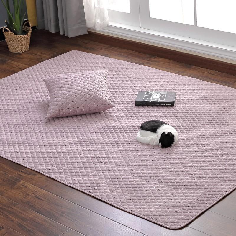 Thảm sàn Nhật tatami, thảm đa năng, 100% cotton, đơn sắc [ORDER]
