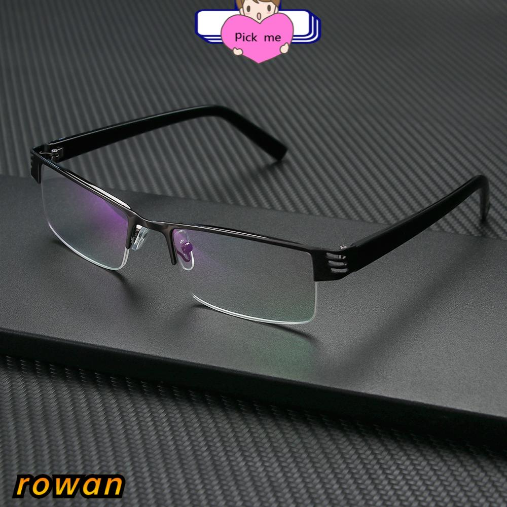 ROW Ultralight Anti-blue Light Eyeglasses Radiation Protection Computer Goggles Presbyopic Eyewear Vision Care Men Women Fashion Resin Retro Classic Reading...