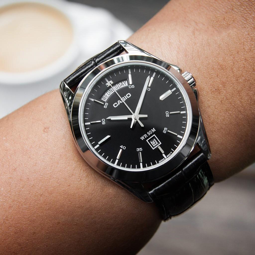 Đồng hồ nam chính hãng Casio Anh Khuê MTP-1370