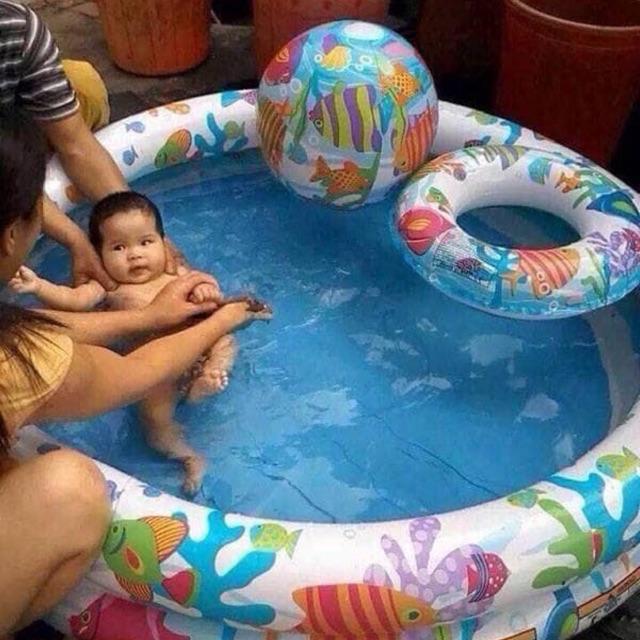 combo/sỉ3 chiếc bể bơi 3chi tiết