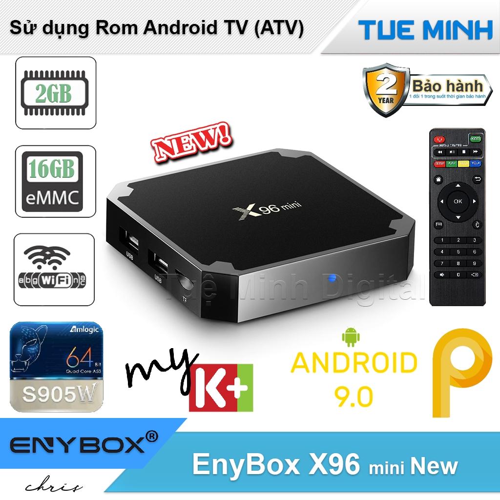 Android TV Box X96 mini phiên bản 2G Ram và 16G bộ nhớ trong - BH 2 năm, AndroidTV, MyK+