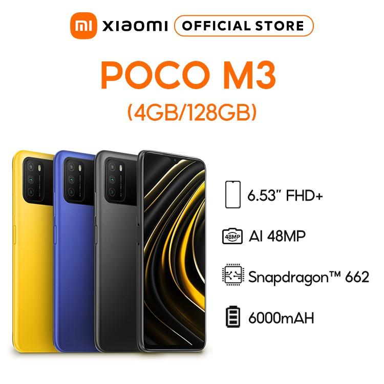 Điện thoại Xiaomi POCO M3 128GB Hàng chính hãng BH điện tử 18 tháng