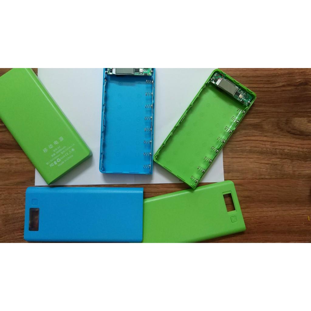 [BÁN SỈ 10 box- KHÔNG PIN 75K/box] Box sạc dự phòng lắp 8 cell 18650 vỏ nhựa màn LCD - 2790373 , 458501022 , 322_458501022 , 750000 , BAN-SI-10-box-KHONG-PIN-75K-box-Box-sac-du-phong-lap-8-cell-18650-vo-nhua-man-LCD-322_458501022 , shopee.vn , [BÁN SỈ 10 box- KHÔNG PIN 75K/box] Box sạc dự phòng lắp 8 cell 18650 vỏ nhựa màn LCD