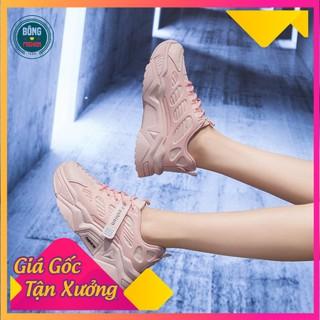 Giày Nữ Thông Hơi, Thoáng Khí Chống Hôi Chân Hot 2021- Chạy Bộ,Đế Giày Tăng Chiều Cao – Fullbox