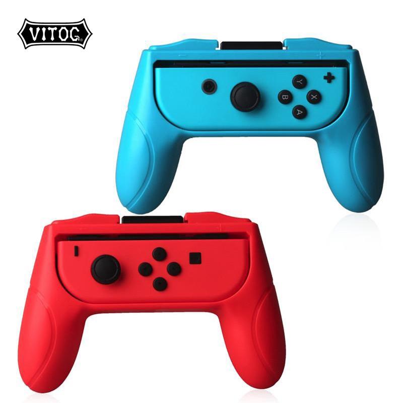 Set 2 ốp bảo vệ cho tay cầm điều khiển Nitntendo Switch tay trái và tay phải