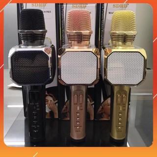 ✅GIÁ RẺ✅ Micro hát karaoke SD-10 bluetooth hỗ trợ ghi âm pass chuẩn – BH 6 tháng đổi mới