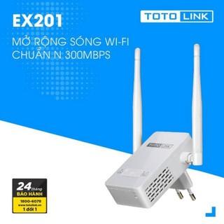 Kích sóng wifi Totolink EX201 chính hãng