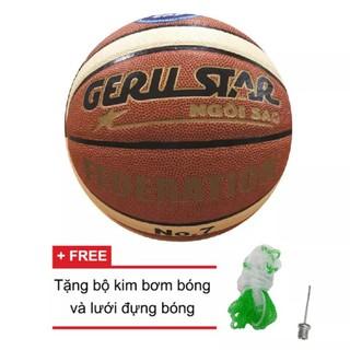 Quả bóng rổ da PU Gerustar Federation số 7 thumbnail