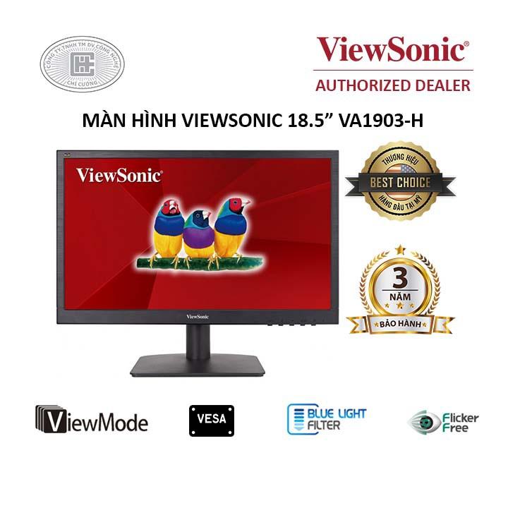 Màn hình LCD Viewsonic 19 INCHES VA1903H - CHÍNH HÃNG