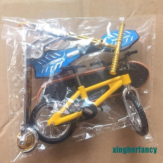 XYCC Scooter Children's Educational Toys Finger Scooter Bike Fingerboard Skateboard XJSS