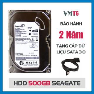 Ổ cứng HDD Seagate 500GB (Tháo máy đồng bộ - mới trên 90%) - Bảo hành 24 tháng 1 đổi 1 !