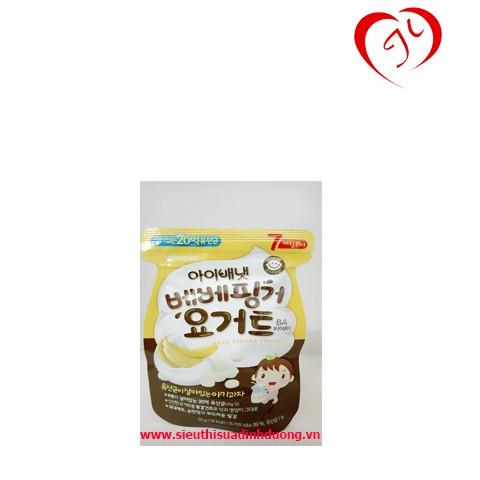 Combo 7túi sữa chua khô vị chuối IVENET BEBE FINGER YOGURT (BA)