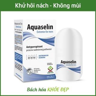 Aquaselin for men 20ml Lăn khử mùi không mùi cho nam - Dùng cho mọi loại da thumbnail