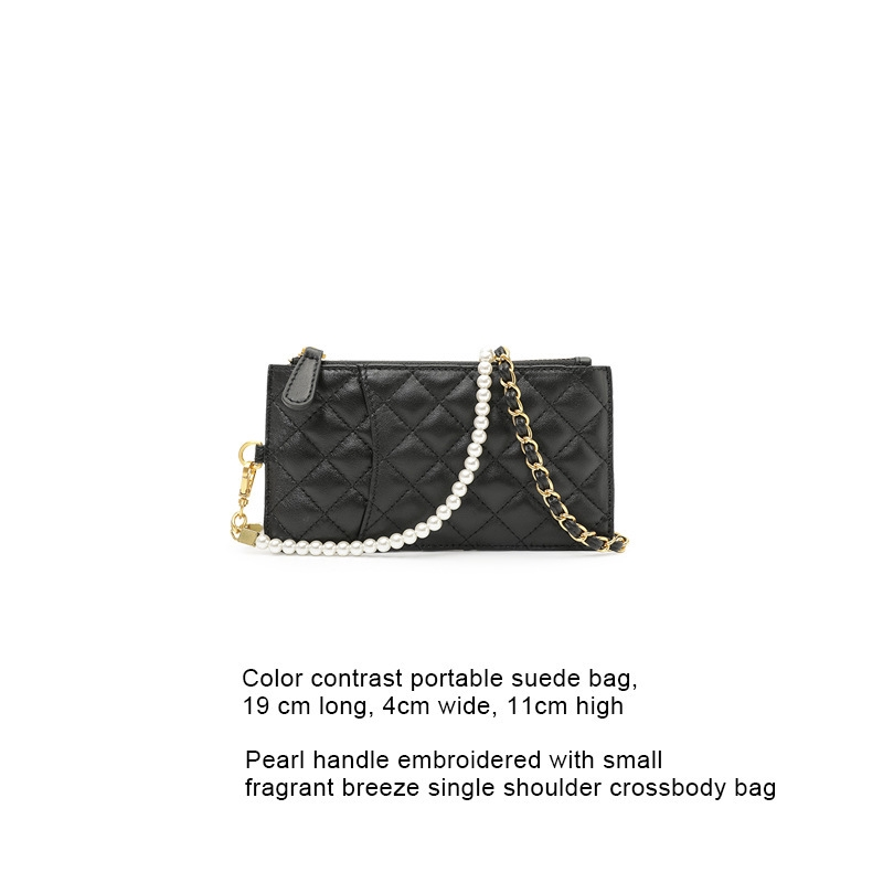 ต้นฉบับออกแบบยี่ห้อกระเป๋าหนังขนาดเล็ก fragrance เพิร์ล lingge แพ็คโซ่