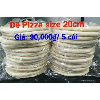 5 đế bánh Pizza size 20cm