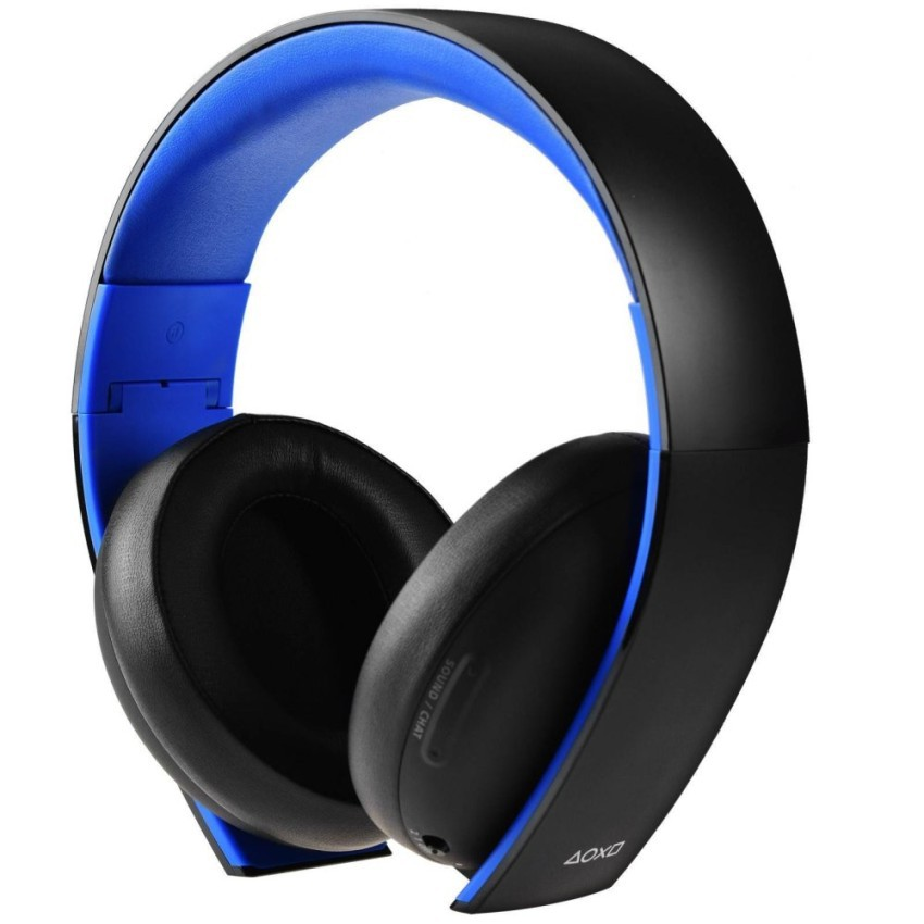 Tai nghe Game PlayStation Gold Wireless Stereo Headset 7.1 (Xanhđen)
