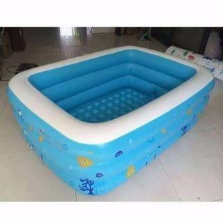 Bể bơi 160cm tặng keo vá và 2 miếng vá bể dự phòng
