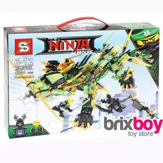 Bộ Lego Rồng máy của Lloyd 480 chi tiết