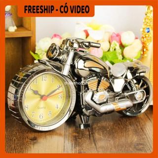 Đồng hồ  BH 1 THÁNG   Đồng hồ để bàn xe phân khối lớn ALarm, kiểu dáng độc lạ tiện lợi cho việc xem giờ 2565
