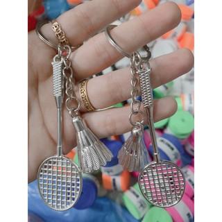 Móc khoá cầu lông / quả cầu / vợt cầu lông