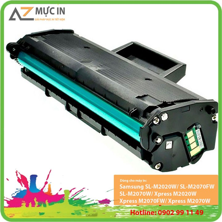 Hộp mực máy in Samsung SL M2020, M2070 | Mực in D111S Chất lượng giá rẻ nhất