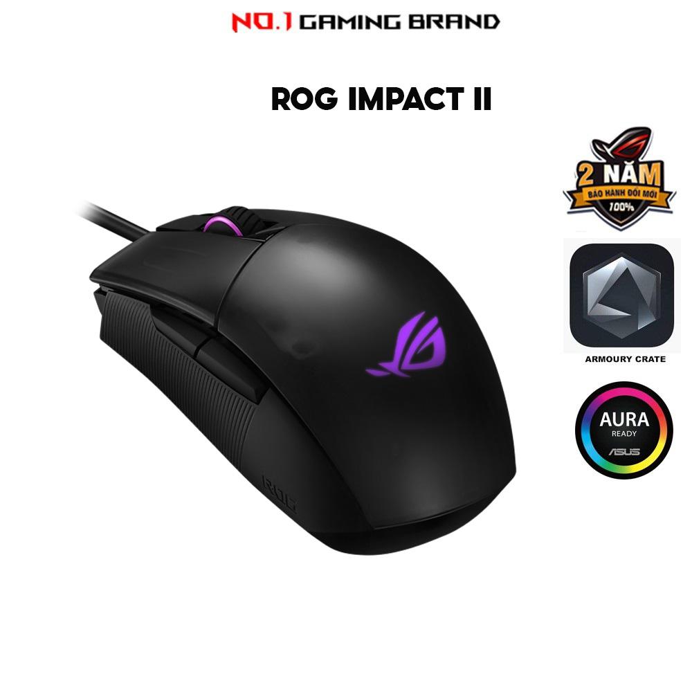 Chuột chơi game ASUS ROG Strix Impact II (P506)