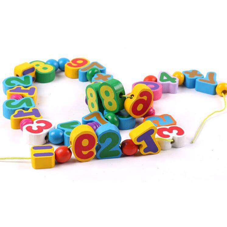 Funny early educational number learning toys baby training toy Fruit bead