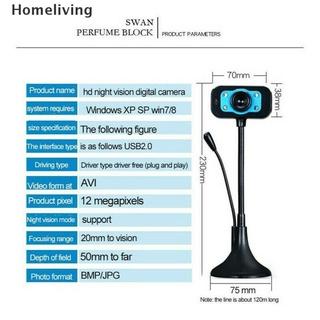 Webcam kỹ thuật số HD tích hợp micro tiện dụng live stream/máy tính