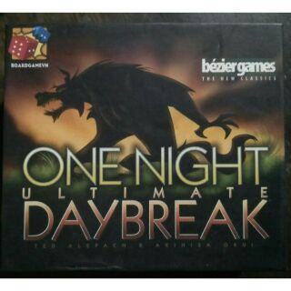 Ma sói one night ultimate day break