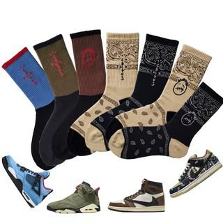 [Geek] Tất   Vớ Nike Cao cổ x Travis Scott   Jordan 1   SB Dunk   Jordan 4   Jordan 6   Air Force 1